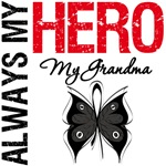 Melanoma Always My Hero My Grandma T-Shirts