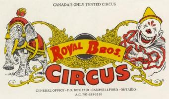 Vintage Circus Ads and Posters