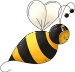 Whimsical Bumble Bee