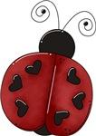 Cute Red Ladybug