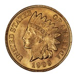 1909 Indian Cent