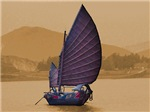 Chinese Junk Color Sepia