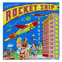 Gottlieb&reg; Rocket Ship