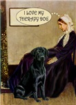 WHISTLER'S MOTHER<br>Labrador Retriever Therapy Do