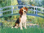LILY POND BRIDGE<br>& Beagle