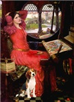 LADY OF SHALOTTE<br>& Beagle