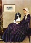 WHISTLER'S MOTHER<br>& Cavalier King Charles
