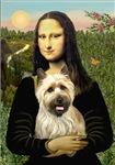 MONA LISA<br>& Wheaten Cairn Terrier#5