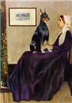 WHISTER'S MOTHER<br>& Doberman PInscher