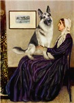 WHISTLER'S MOTHER<br>& German Shepherd