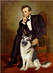 ABRAHAM LINCOLN<br>& German Shepherd