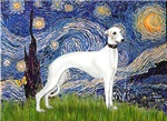 STARRY NIGHT<br>& White Whippet