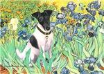 IRISES<br>& Smooth Fox Terrier