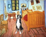 ROOM AT ARLES<br>Greater Swiss Mountain Dog