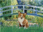 LILY POND BRIDGE<br>& Pembroke Welsh Corgi