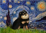 STARRY NIGHT<br>& Pomeranian (BT)