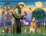 SAINT FRANCIS<br> & Golden Retriever #3