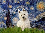 STARRY NIGHT<br> & West Highland Terrier