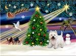CHRISTMAS MAGIC<br>& West Highland Terrier
