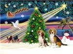 CHRISTMAS MAGIC<br>& 2 Beagles
