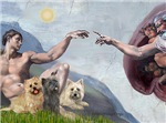 CREATION<br>& Cairn Terrier Trio