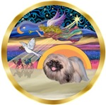 CHRISTMAS STAR<br>& Pekingese