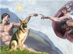 CREATION<br>With German Shepherd #2