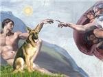 CREATION<br>With German Shepherd #2