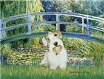 LILY POND BRIDGE<br>& Sealyham Terrier L2