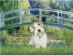 LILY POND BRIDGE<br>& Sealyham Terrier L2