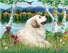 BIRCHES BY THE LAKE<br>& Great Pyrenees