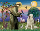 ST. FRANCIS<br>& Great Pyrenees