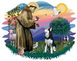 St. Francis #2 &<br> Siberian Husky #1