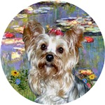 Yorkshire Terrier #13<br>in Lilies (#2)