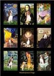 Famous Art Composite<br>With Beagles