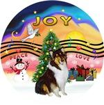 CHRISTMAS MUSIC #2<br>Tri Color Collie (#2)