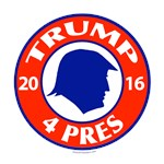 Trump for President 2016 T-shirts and Merch
