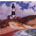 Montauk Lighthouse Art Cards & Gifts