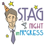 stag night t shirts