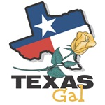 Texas Gal T-shirts, Buttons, Gifts