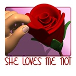 She Loves Me Not T-shirts, Anti Vday Gifts