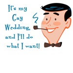 Retro My Gay Wedding T-shirts and Gifts