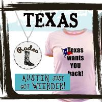 Texas T-shirts & Texas Gifts for Texans