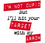 I'm Not Cupid T-shirts and Merchandise