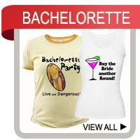 Bachelorette Party T-shirts, Gifts and Favors