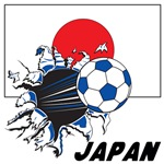 Japan Soccer T-shirts, Posters, Swag, Gear