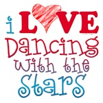 I Love Dancing With the Stars T-shirts