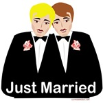 Gay Wedding Shirts, Bags, Mugs, Gifts