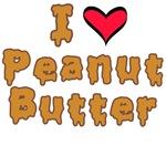 i love peanut butter tee