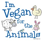 Vegan for the Animals T-shirts and Products